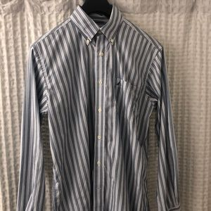 Nautica Striped Button Down